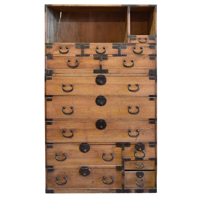 Japanese Tansu Chest - Image 1 of 6