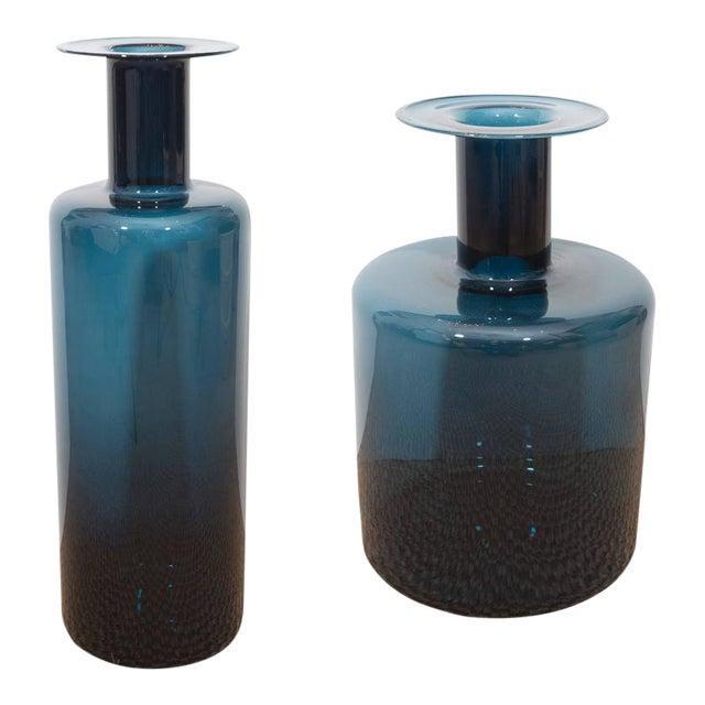 La Sardaigne Midnight Blue Vases - Image 1 of 10