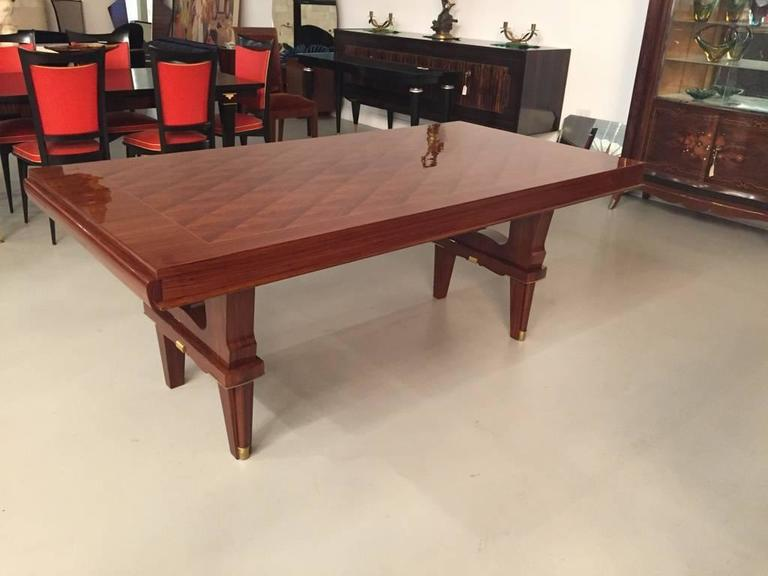 French Art Deco Dining Table For Sale In New York   Image 6 Of 8
