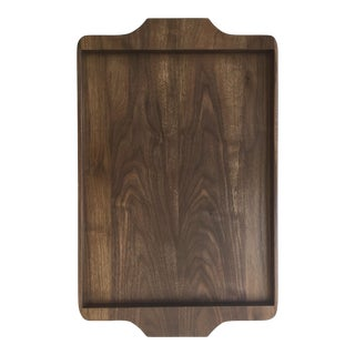 Large Walnut Tray For Sale