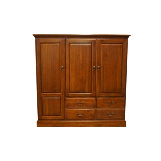 20th Century Traditional Lexington Furniture Bob Timberlake Collection Media Cabinet /Entertainment Center For Sale