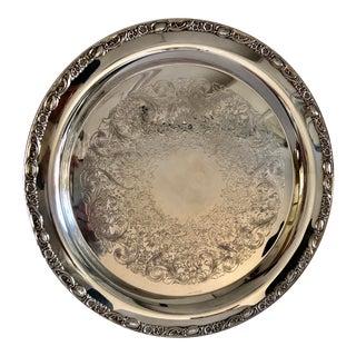 "International Silver Co. - Set of PPlatter 15"" Dia For Sale"