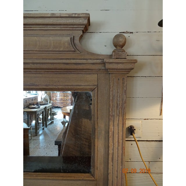 19th Century French Oak Mirror For Sale In New Orleans - Image 6 of 11