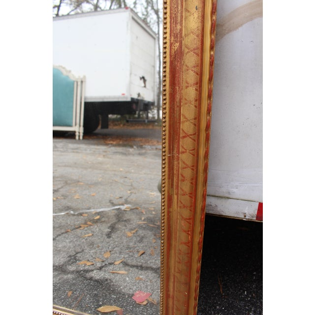 French C. 19th Louis Phillipe Mirror For Sale - Image 3 of 4