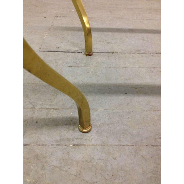 1940s French Bronze Coffee Table by Maison Ramsay For Sale - Image 5 of 6