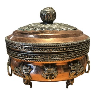 Copper Asian Tureen For Sale