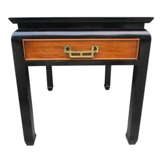 Century Furniture Chin Hua Side Table With Drawer For Sale