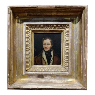 18th Century Portrait of a English Aristocrat - Oil Painting For Sale