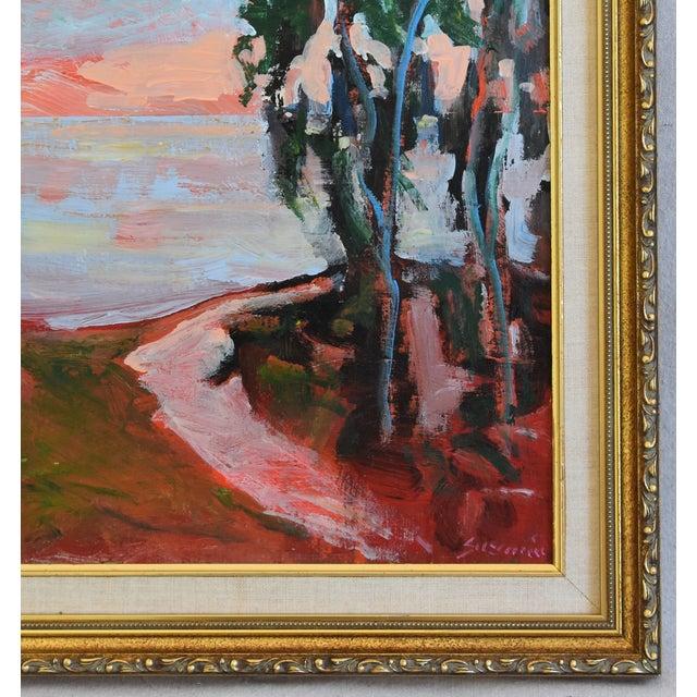 Juan Guzman Plein Air Seascape Landscape Oil Painting For Sale In Los Angeles - Image 6 of 9