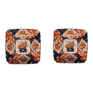 Imari Porcelain Plates - a Pair For Sale