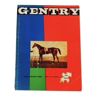 1953 Gentry Magazine, No. 8, Fall Book For Sale