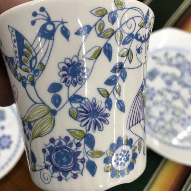 Blue Figgjo Flint Norwegian Dish Set - 19 Pieces For Sale - Image 8 of 12