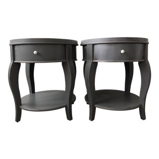 1980s French Parker Side Tables - a Pair For Sale