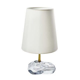 """Sassone"" Glass Amber Table Lamps by Esperia For Sale"