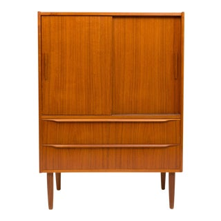 Vintage Danish Mid-Century Hutch/Cupboard For Sale
