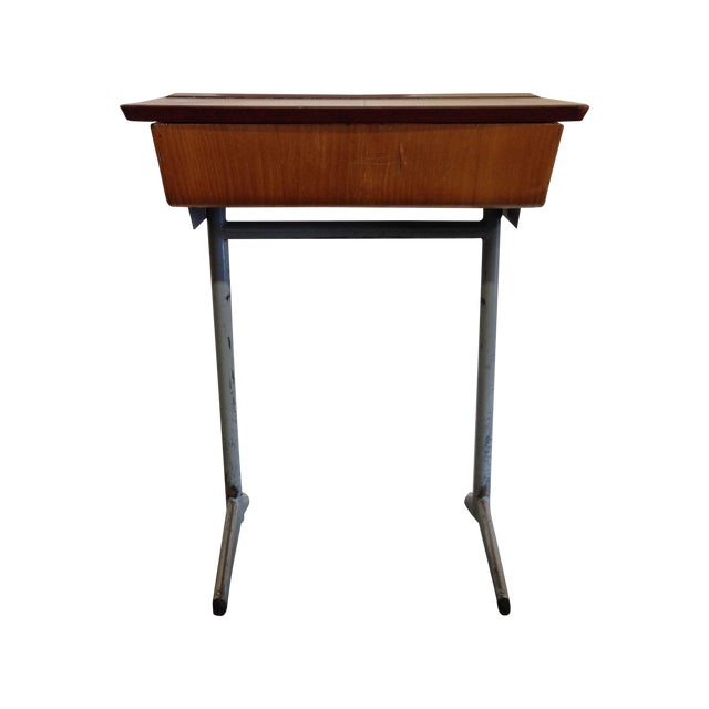 Vintage 1960s Children's School Desk For Sale