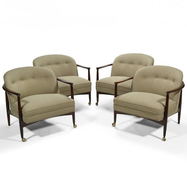 Finn Andersen Barrel-Back Lounge Chairs - Image 11 of 11