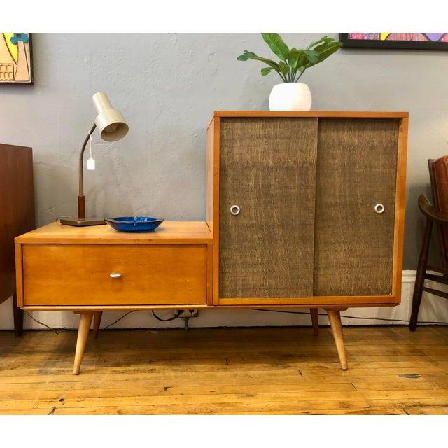Vintage Paul McCobb Planner Group Modular Cabinet 1950's For Sale - Image 9 of 10