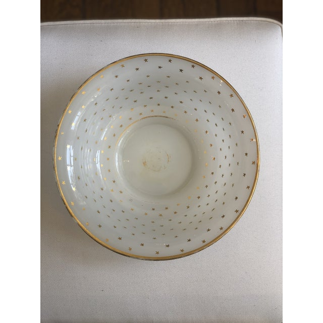 Glass 19th Century Vintage French Opaline Glass Bowl For Sale - Image 7 of 9