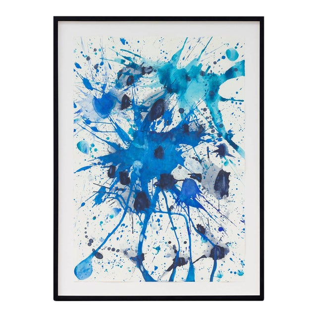 J. Steven Manolis Abstract Gouache and Watercolor on Paper, 2007, USA For Sale