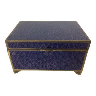 Chinese Cloisonné Box