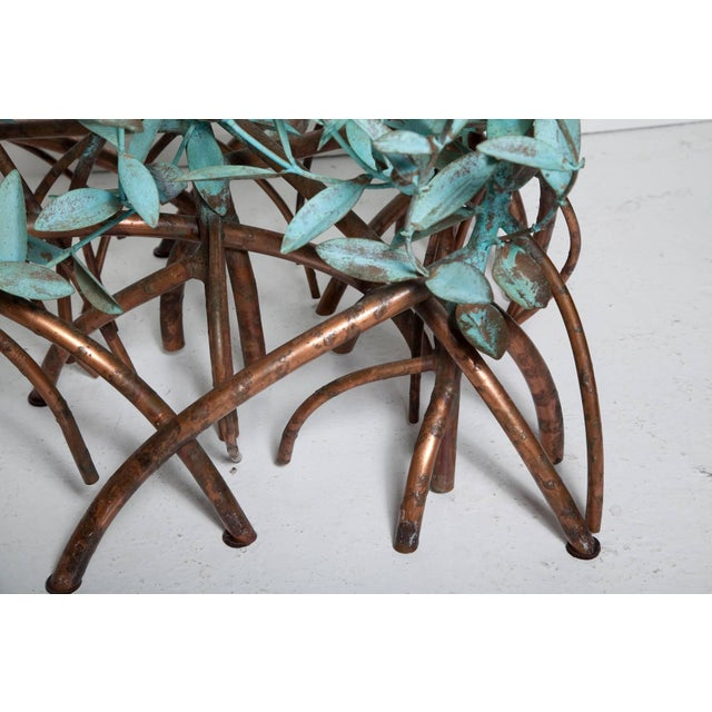 Copper Copper Mangrove Coffee Table by Garland Faulkner For Sale - Image 7 of 13
