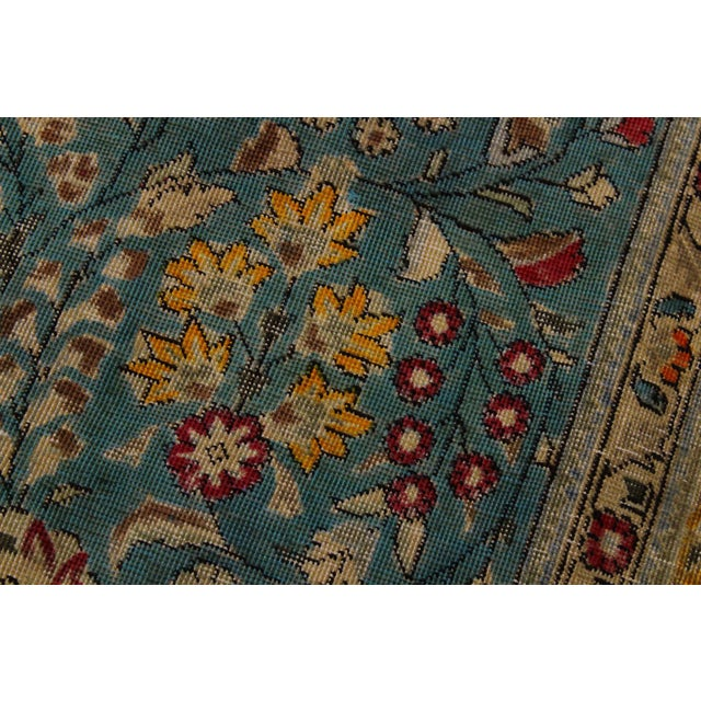 2010s Hand Painted Solis Wool Rug - 9′8″ × 12′4″ For Sale - Image 5 of 8