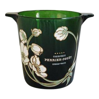 French Perrier-Jouet Champagne & Wine Chill Bucket