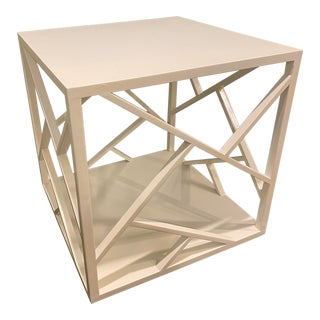 Festoni Honk Kong Cube Occasional Table For Sale