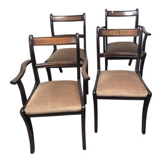 Early 20th Century Antique Chairs - Set of 4 For Sale