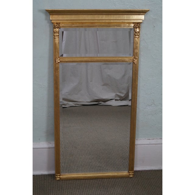 Italian Made Gilt Federal Hanging Wall Mirror - Image 2 of 10