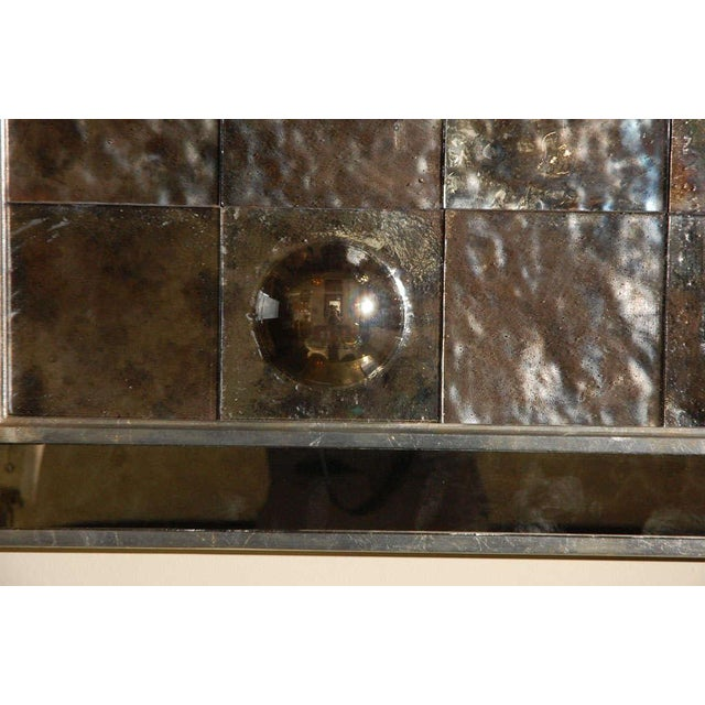 Modern Paul Marra Contemporary Convex Mirror For Sale - Image 3 of 8