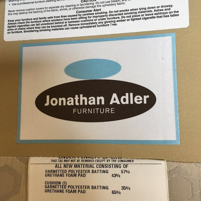 Jonathan Adler Prescott Chairs - A Pair - Image 8 of 11