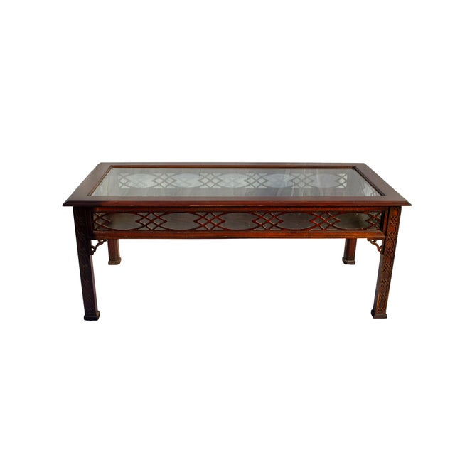 This is a vintage 3rd quarter 20th century coffee table by the esteemed furniture manufacturer, Kindel, of Grand Rapids,...