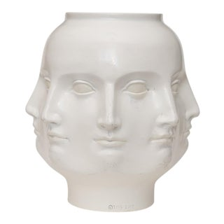 2005 Original Fornasetti Style Perpetual Face Dora Maar Head Vase by T. M. S. For Sale
