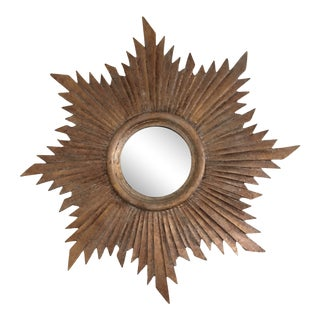1990s Sunburst Mirror For Sale