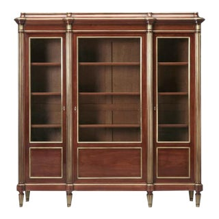 Mahogany Louis XVI Style Bookcase, circa 1900 For Sale
