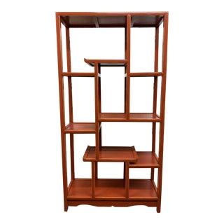 Vintage Chinoiserie Etagere For Sale
