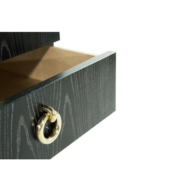 Gibby Collection End Tables in Limed Oak For Sale - Image 10 of 13