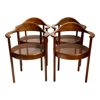 Early 20th Century Vienna Secessionist Chairs - Set of 4 For Sale