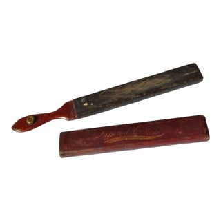 19th Century Imperial Cushion Razor Strop For Sale