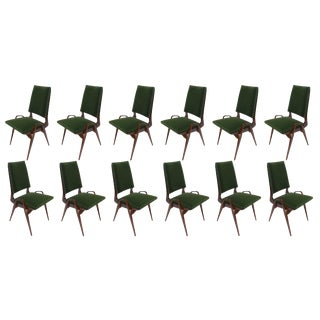Adesso Imports Custom Dining Chairs by Adesso Studio-Set of 12 For Sale