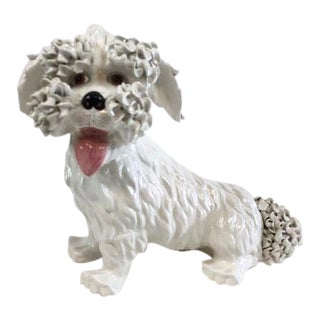 1960's Vintage Italian Spaghetti Dog Statue For Sale