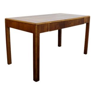 1960s Mid Century Modern Lane Alta Vista Parsons Desk Console Table For Sale