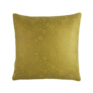 Maroc Double-Sided Pillow, Lemon Yellow For Sale