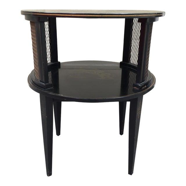 Vintage Katherine Henick Signed End Table For Sale