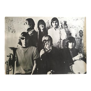 "Rare 1966 "" Jeffereson Airplane "" Herb Green Photograph Collector's Rock & Roll Poster For Sale"
