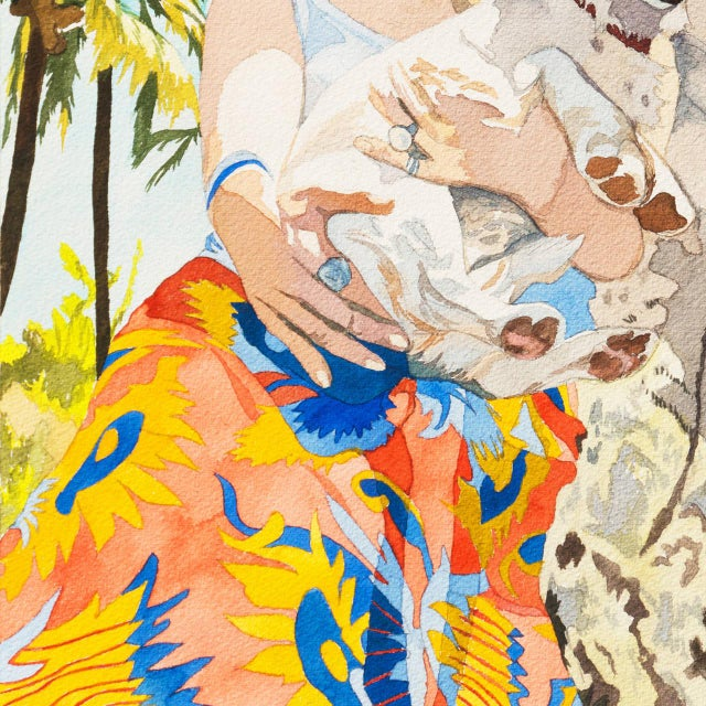 Realism Nancy Maass Mosen Rodeo Drive, 1972 1972 For Sale - Image 3 of 9
