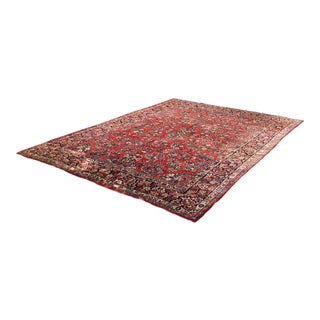 Handmade Persian Rug - 9′ × 12′