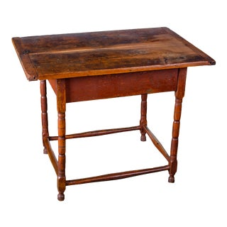 Painted Tavern Table, New England, 18th Century For Sale